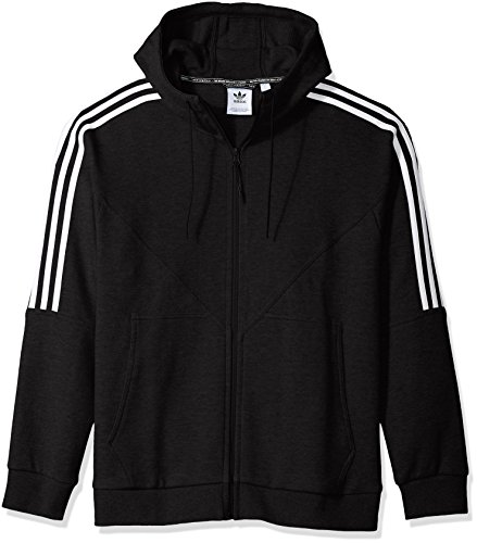 (adidas Originals Men's NMD Full-Zip Hoodie, Black, M)