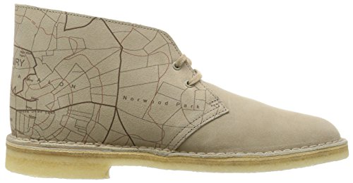 Clarks Originals Desert Boot, Herren Desert Boots Kurzschaft Stiefel & Stiefeletten Beige (Sand Interest)