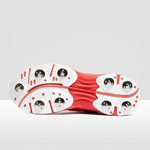 Gray-Nicolls Atomic Junior Spike Cricket Shoes, White, UK3