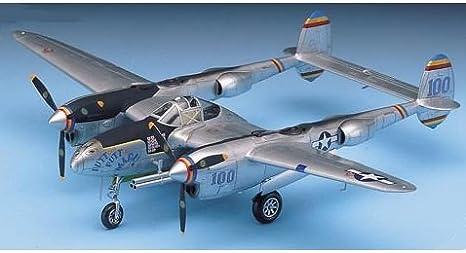 P-38J, DROOPSNOOT, P-38L /& F-5E ACADEMY 1//48 PLASTIC KIT P-38 LIGHTNING
