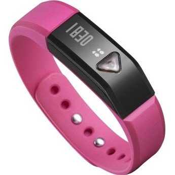 Generic OLED Screen Showing Smart Wristband Bracelet Tracking Movements,Sleep and Calories Data Compatible with iPhone App Store/ PCs,also some Android (Rosered)