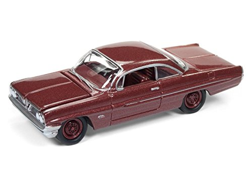 - Johnny Lightning 1961 Pontiac Catalina Coronado Red Poly Limited Edition to 1800pc Worldwide Hobby Exclusive \Muscle Cars USA\ 1/64 Diecast Model Car