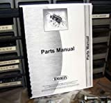 INTERNATIONAL 161 WINDROWER SELF-PROPELLED. Parts Manual RARE Parts |PTS| Manual