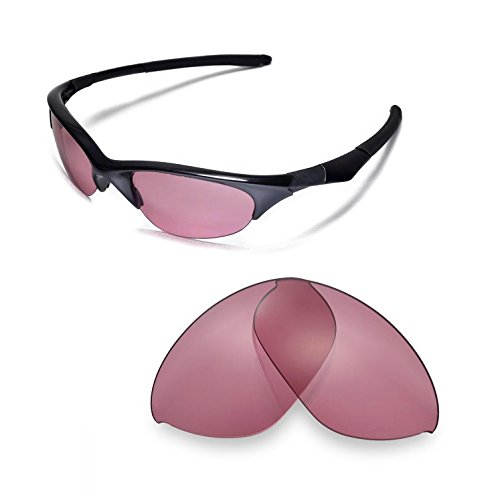 Walleva Replacement Lenses Or Lenses/Rubber for Oakley Half Jacket Sunglasses - 43 Options Available - Lenses Polarized Non