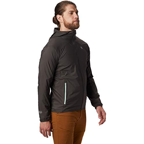 Mountain Hardwear Mens KOR Preshell Hoody, Void, Medium