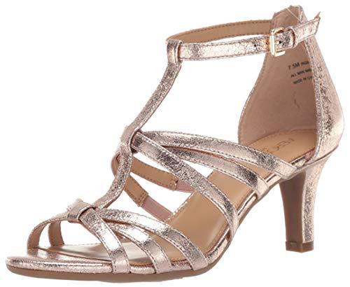 0de355129d Aerosoles Women's PASSIONFRUIT Heeled Sandal, Champagne, ...
