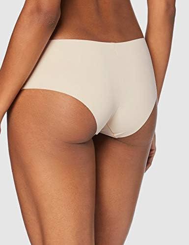 Nero//Nudo chiaro//Bianco Label: XS Marchio XS Iris /& Lilly Mutande Donna Pacco da 5
