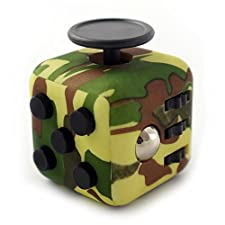 CPEI Mini Fidget Cube Stress Cube, Relieves Stress And Anxiety Toy Fidget Cube fidget spinner (Green, Same Size)