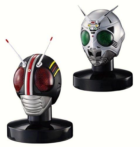 Rider Mask Collection Masukore Best confrontation Hen BLACK + Shadow Moon