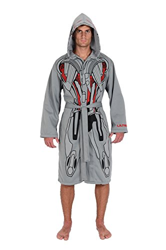 Ultron Suit (Marvel Grey Ultron Avengers Jersey Robe & Swim Suit Cover Up)