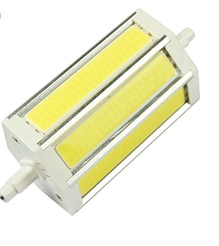 JKLcom R7S COB LED Bulbs R7S 118mm 15W Not Dimmable COB Light Floodlight Double Ended j Type Tungsten Halogen Bulb Replacement (Daylight White) by JKLcom (Image #4)