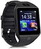 Bluetooth Smart Watch With Camera, Sim Card and Multilanguage Support | Apps like Facebook, Touch Screen and WhatsApp | Compatible with Xiaomi Redmi Note 4 2GB RAMBy mobicell