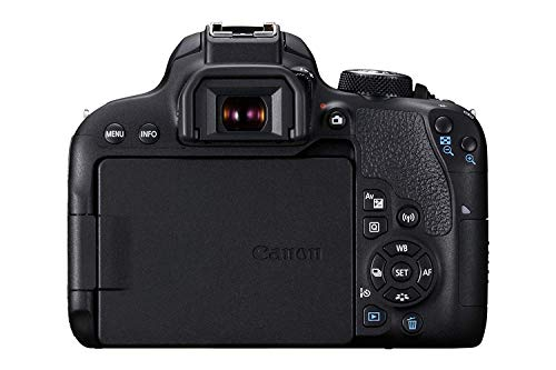 Canon EOS 800D 24.2MP Digital SLR Camera + EF-S 18-55 mm is STM Lens + 16GB Memory Card + Carrycase 6