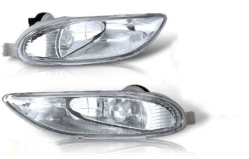Toyota 02-04 Camry 05-08 Corolla 02-03 Solara OEM Fog Light Clear (Wiring Kit Included) Pair