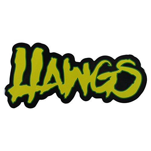 文羽幻想Hawgs Wheelsスケートボードステッカー5.25