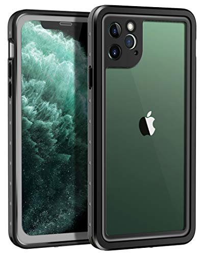 [해외]Lamcase for iPhone 11 Pro Max Waterproof Case Built-in Screen Protector with Fingerprint ID IP68 Sealed Protective DustSnowShock Proof Cover Case for Apple iPhone 11 Pro Max 6.5 2019 BlackClear / Lamcase for iPhone 11 Pro Max Water...