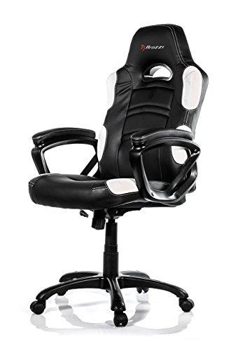 Furniture ENZO-WH Gaming Chair Ergonomic Design ENZO White