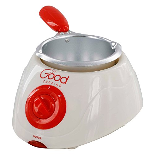Chocolate Melting Pot- Electric Chocolate Fondue Fountain Pot with over 30 Free Accessories and 12 Recipes by Good Cooking (Image #4)