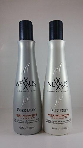 NEXXUS Frizz Defy Shampoo & Conditioner, 13.5 Fluid Ounce Bu