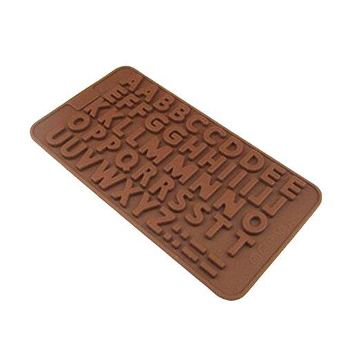 silicone alphabet baking mold - 9