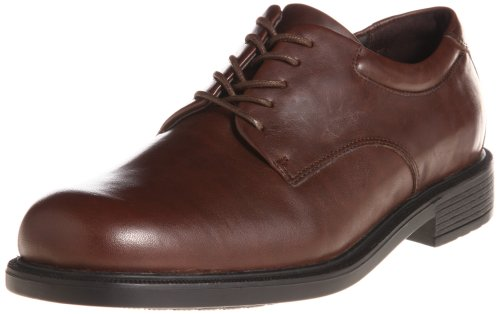 Rockport Men's Margin Oxford,Chocolate,9.5 XW - Rockport Brown