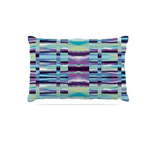 Kess InHouse Nina May Samanna  Fleece Dog Bed, 50 by 60 , bluee Tribal