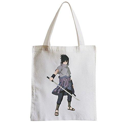 Große Tasche Sack Einkaufsbummel Strand Schüler Naruto Sasuke uchihua