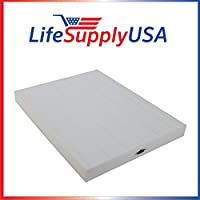 4 Pack Replacement HEPA Filter fits Winix 17WC Air Purifier P150 & WAC9300 114090 by LifeSupplyUSA