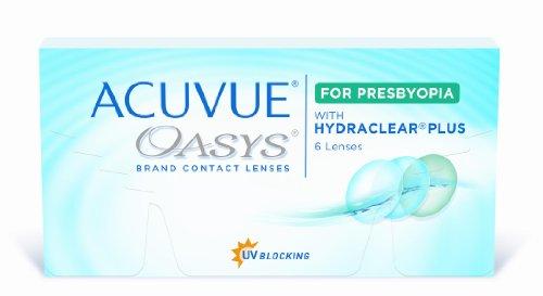 Acuvue Oasys for Presbyopia 2-Wochenlinsen weich, 6 Stück / BC 8.4 mm / DIA 14.3 / ADD MED / 0.5 Dioptrien