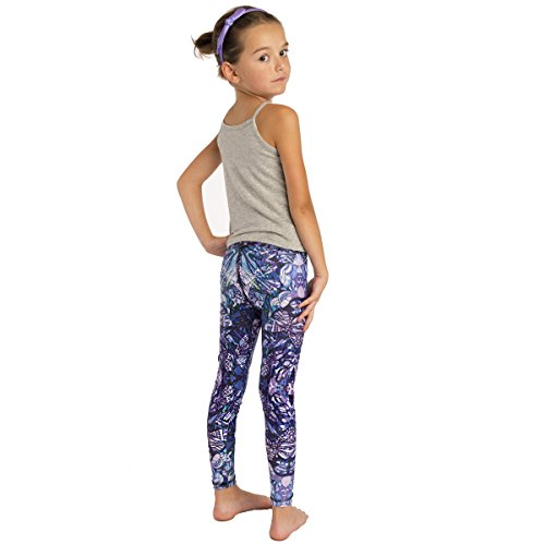 51a80c52ddd94 Amazon.com: MONASITA Girls Print Leggings for Active Kids (Multicolor, 5T):  Clothing