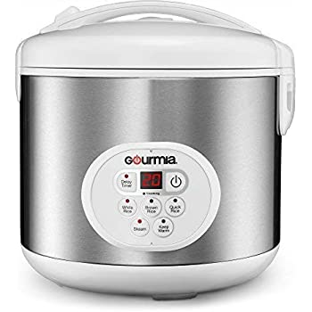 Amazon.com: Gourmia GRC870 20 Cup (Cooked) Rice Cooker and