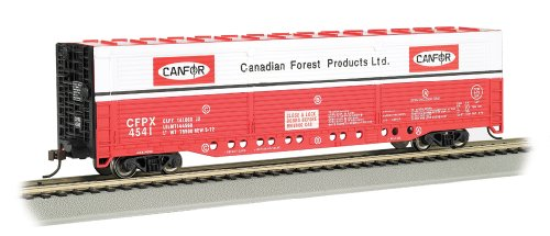 Bachmann Industries HO Scale Evans All-Door Box Car - Canadian Forest #4541 ()