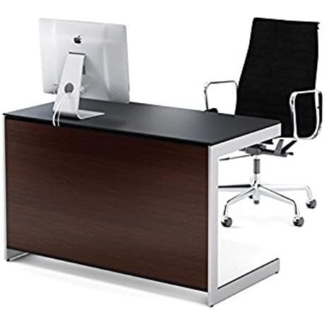BDI Sequel 6003 Compact Desk Chocolate Stained Walnut