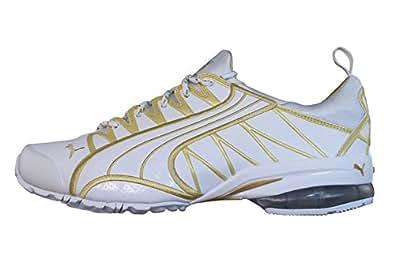Puma Voltaic Womens Running Trainers / Shoes-White-6.5