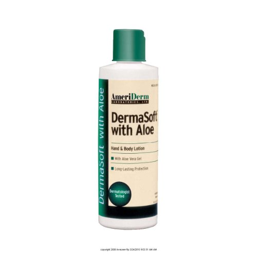Alimed DermaSoft Hand and Body Lotion with Aloe, Hypoallergenic, 8 oz by AliMed ()