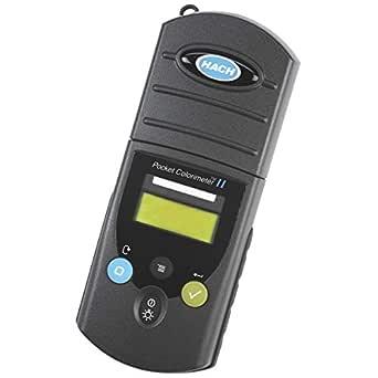 Hach 5870012 Pocket Colorimeter II, Chlorine, (Free and Total) Plus pH