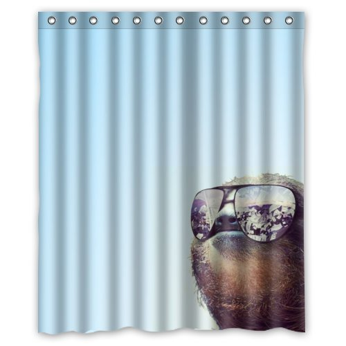 Vacation Sloth Shower Curtain