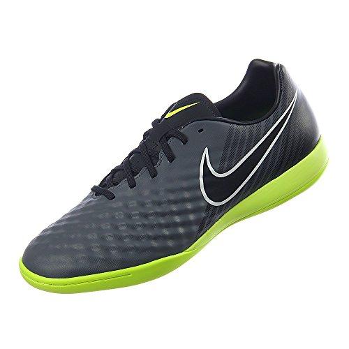 Chaussures De Soccer Intérieur Nike Hommes Magista Onda Ii - (gris Foncé / Noir-blanc-volt)