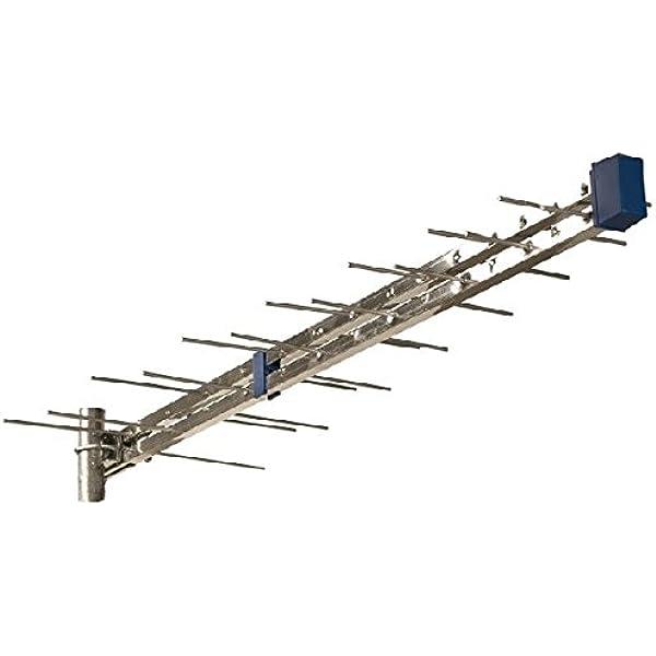 Tecatel antenas tv y soporte - Antena logaritmica 28 elemento ...