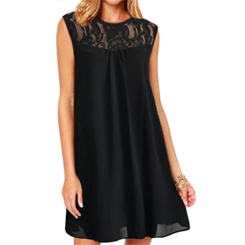 Neck Chiffon Women Dresses - 9
