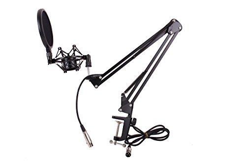 Microphone Suspension Scissor Record Broadcast