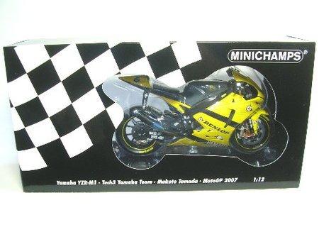 Minichamps Yamaha Yzr M1 (Minichamps DP 1/12 Yamaha YZR-M1 TECH3 (Moto GP2007) Tamada (japan import))