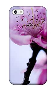 Anti-scratch And Shatterproof Flower Earth Nature Flower Phone Case For Iphone 5/5s/ High Quality Tpu Case