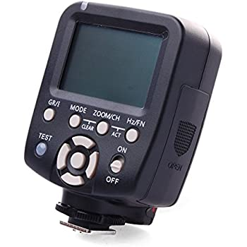YONGNUO YN560-TX for Canon Flash Transmitter Provide Remote Manual Power Control for YN-560 III Manual Flash Units Having Manual RF-602 RF-603 RF-603 II Compatible Radio Receivers Built In LF466