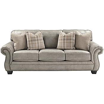 Amazon.com: Acanva Chesterfield Chenille Living Room Sofa ...
