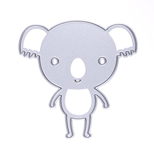 Koala Shape Metal DIY Cutting Dies Stencil Embossing Card Scrapbooking Album Decorative - Shape Koala