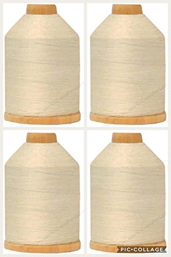 (YLI 21100-001 3-Ply T-40 Cotton Hand Quilting Thread, 1000 yd )