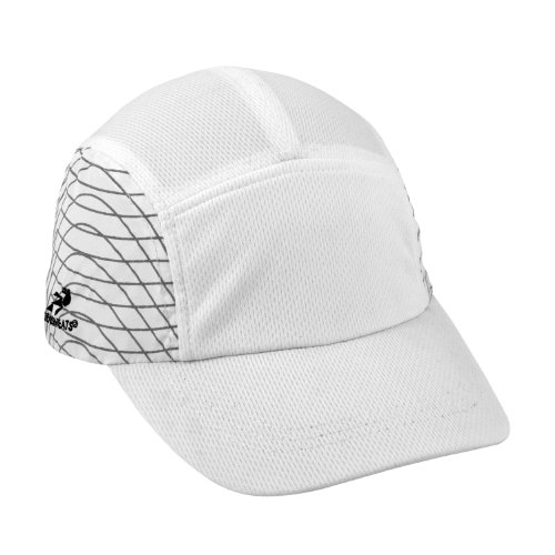 - Headsweats Ultra Reflective Race Running Hat, One Size Fits All, White