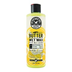 Chemical Guys Butter Wet Wax is an all new and improved formula that delivers an unmatched surface shine and deep wet look. Butter Wet Wax goes on easier, shines brighter and lasts longer than previous generations. This improved blend of natu...