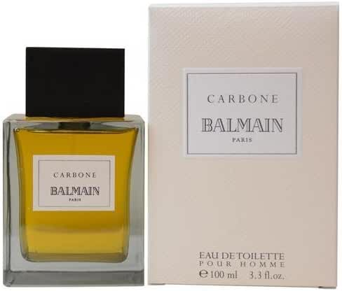 Pierre Balmain Carbone Eau De Toilette Spray 3.3 Oz / 100 Ml For Men, 15.04 Ounce (Packaging may vary)